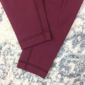 lululemon athletica Pants - Lululemon Wunder Under Pant (Hi-Rise) Wine Berry